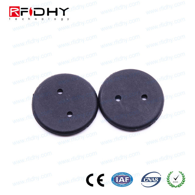 newest materials and antenna design Silicone washable laundry tag for textile services providers