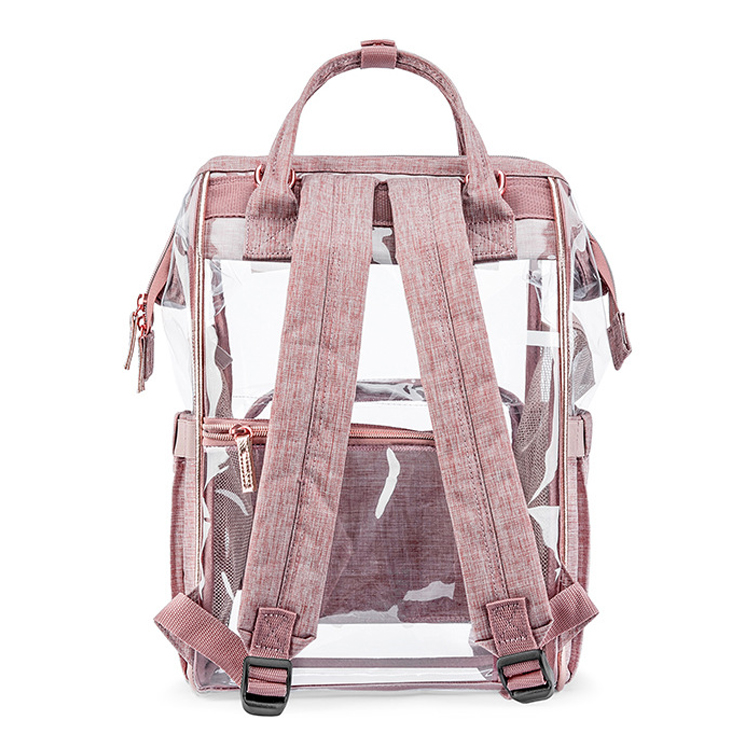 Newest PVC Diaper Bag Clear Waterproof Mummy Backpack