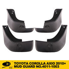 mud flaps mud guard for TOYOTA COROLLA AXIO 2010+