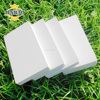 JINBAO hard smooth surface high quality density white 10mm pvc sheet price