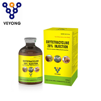 Manufacturer oxytetracycline  injection 20% LA for cattle antibiotic veterinary medicine oxytetracycline price