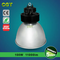 TUV-CE/GS SAA RoHS warehouse led high bay light IP65 5 years warranty Meanwell driver
