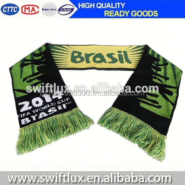 folding neck soccer scarf