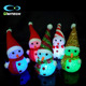 Free Sample High Transparency Acrylic Christmas Decoration Led Lighted Snowman Manufacturer