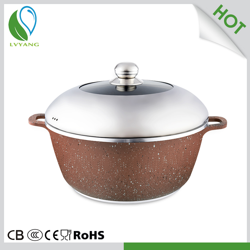 Manufacturer steam cooking hot pot for sale