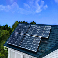 Home solar kit/10kw home solar power system for flat roof
