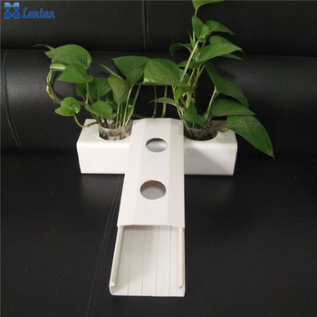Agricultural NFT pvc pipes for Greenhouse Hydroponic Growing System