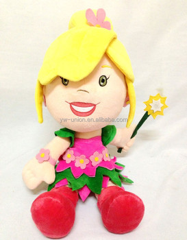 ODM OEM custom design stuffed soft fairy girl doll / tell story flying fairy doll