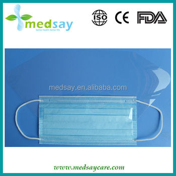 Disposable Protective Face mask with anti-fog shield