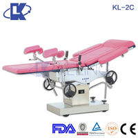 obstetric delivery bed used hospital labor and facial bed