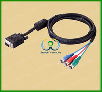 hot sales factory direct vga 3rca cable