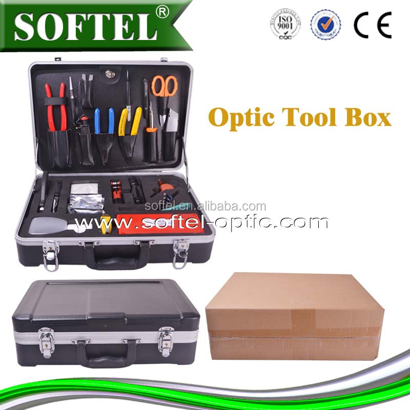 Deluxe Fiber Optic Fusion Splicing Tool Kit, network tool set SFT-6500N