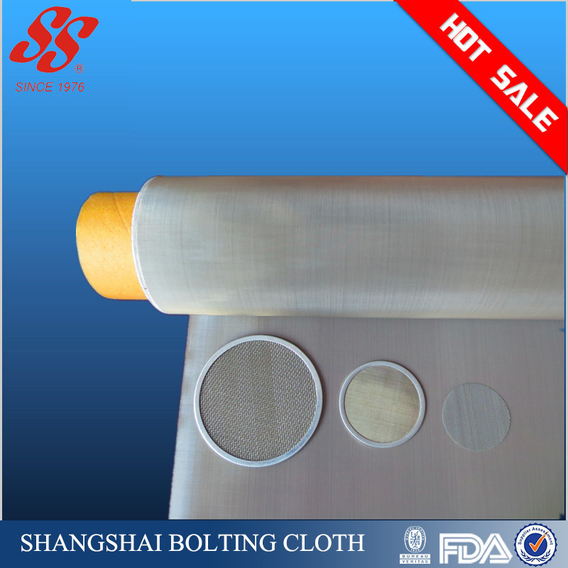 (Manufacturer) 300 micron 304 316 Woven Stainless Steel Wire Mesh Screen/cloth