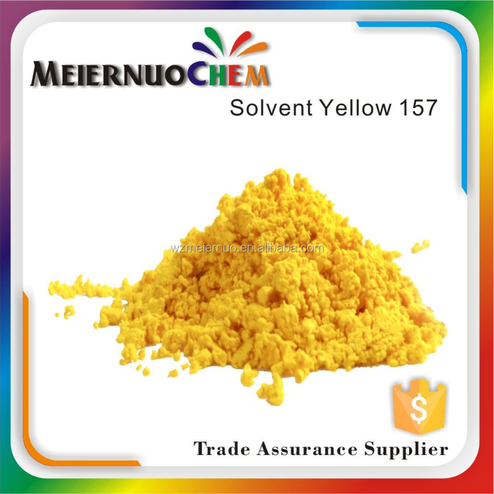 high quality transparent oil soluble dyes solvent yellow 157 polymer dye chemicals