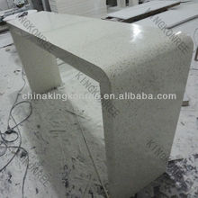 Artificial marble acrylic solid surface long narrow bar table