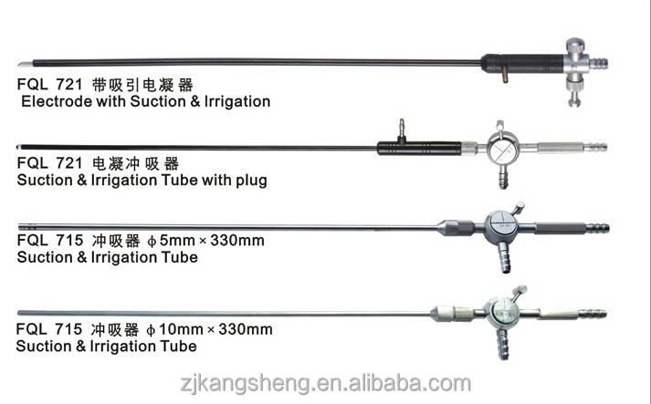China Suction&irrigation tube for laparoscopic surgery/medical apparatus and instruments