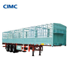 CIMC 40 Ton 3 Axle cargo truck & trailers for sale in egypt