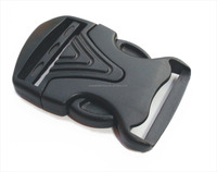 Safety custom reflective plastic bag belt side release buckle A-206