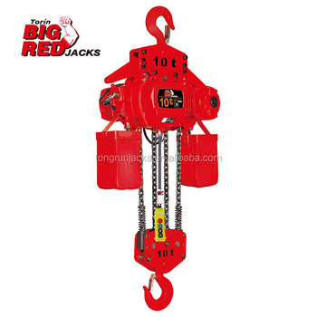 10 Ton Electric Chain Hoist TRC9E1001B