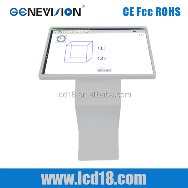 42 Inch usb flash drive lcd digital signage display all in one pc for schoolIR touchscreen kiosk lcd advertising display