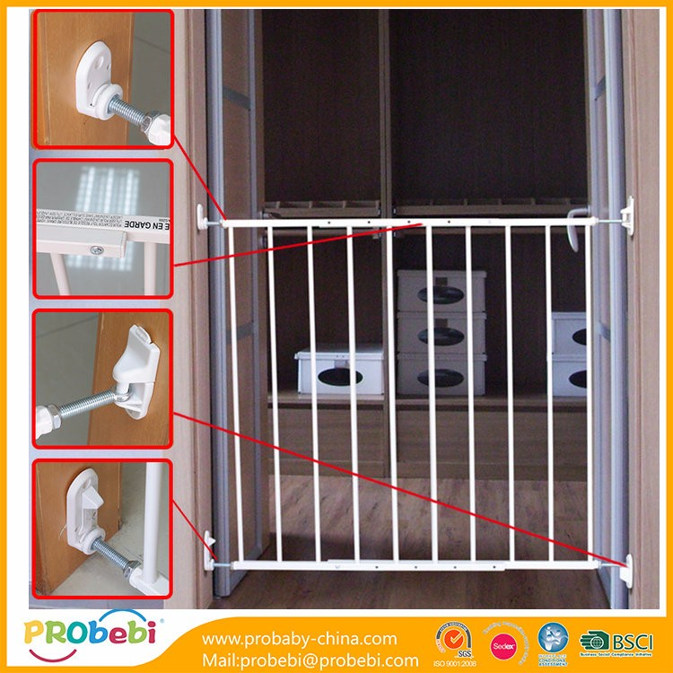 pet friendly kids gates baby safety gate for stairs and doorways