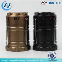 small 36 led Mini folding telescopic led solar power camping lantern