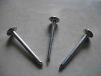 Roofing Nail For Asphalt Shingles Umbrella Head Screw Rod Roofing Nail Brass Roofing