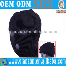 Black Mask Beanie Military Warmer Winter Ski Cap Men Hats
