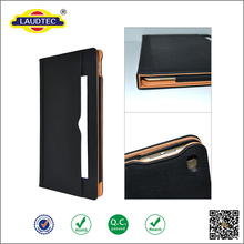 Soft Leather Wallet Smart Case Cover Sleep / Wake Stand case for All iPad ------- Laudtec