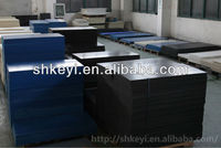 MC blue nylon sheet/plastic sheet