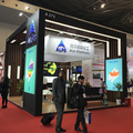Detian Offer wooden 20 by 20 exhibition stand trade show in Shanghai expo