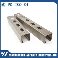 Low Price Cold Bending Unistrut C Channel Size