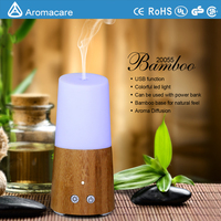 Electric natural essential oil mini car aroma diffuser