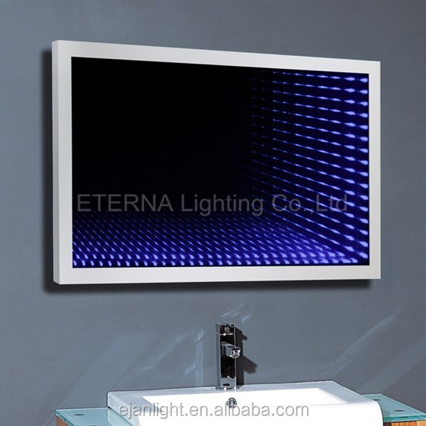 3D Bathroom Fancy LED Infinity Mirror