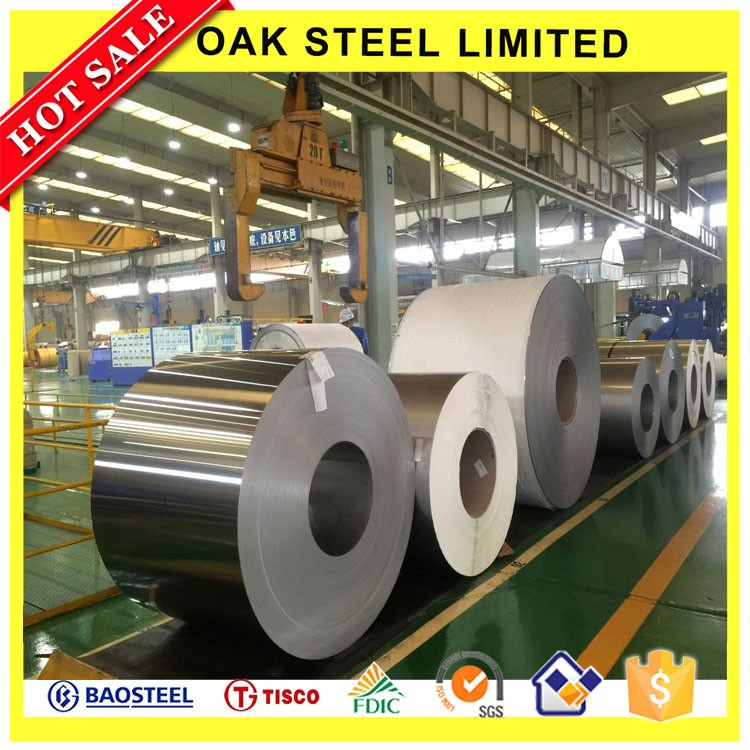 Top Quality Second Choice Cold Rolled Stainless Steel Narrow Strip Steel 304 Coil