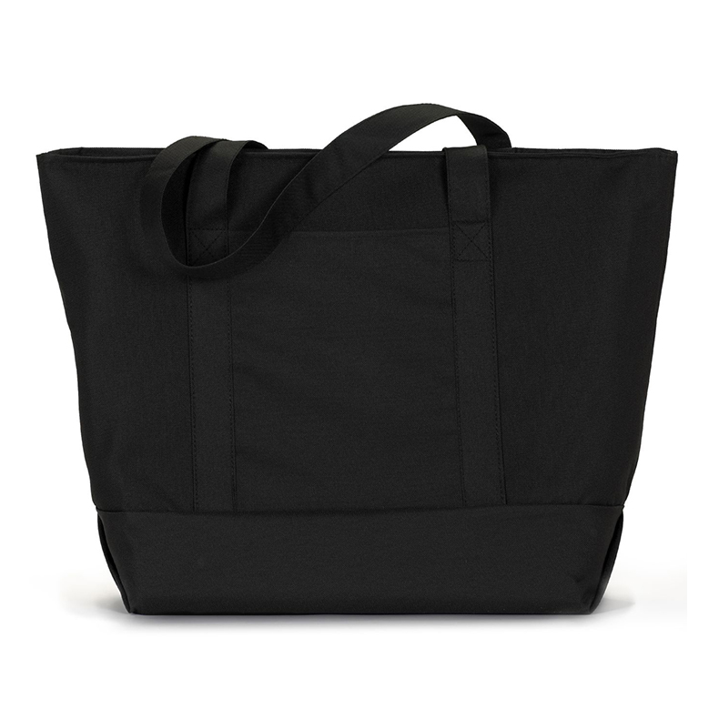 China Manufacture Cheap Free Sample Custom Gift Black Canvas Cloth Tote Promotion Shopping Bag
