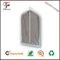 Plastic mens suit covers for clothing