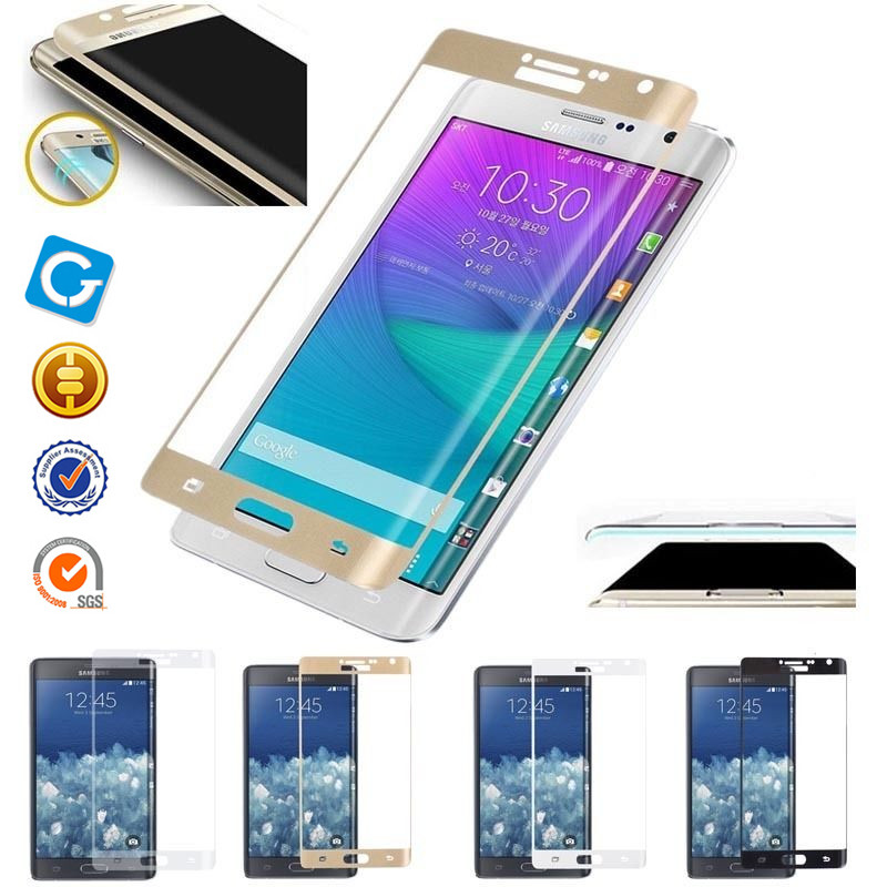 9H Full Cover Tempered Glass Film screen Protector For Samsung Galaxy Note Edge N9150
