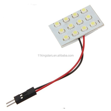 Best quality White T10 Festoon 1210 12SMD LED Interior Reading Door Dome Map Light