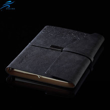 A4 A5 PU Leather Notebook Office Folio Organize Business Notebook