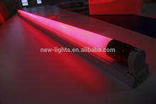 hot sale red colorful led tube led T8 COLORFUL TUBE GLASS TUBE LED LIGHTING yellow green 18w 9w