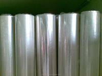 good price gold laminating matallized PET film PE scrap rolls stretch film