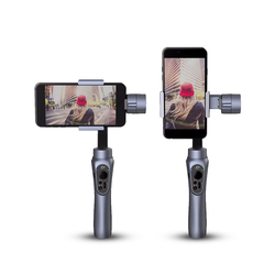 HeavenGifts Stock Offering cellphone 3 axes gimbal Zhiyun Smooth Q selfie stick video stabilizer for Smartphone