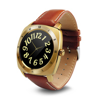 Latest wrist hand watch mobile phone, bluetooth smart watch with sleep monitor touch screen hand heart rate