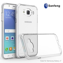 Hybrid Scratch Resistant Clear Bumper Smart Phone Case Cover for Samsung Galaxy J7 2015 J700 Boost Mobile Case