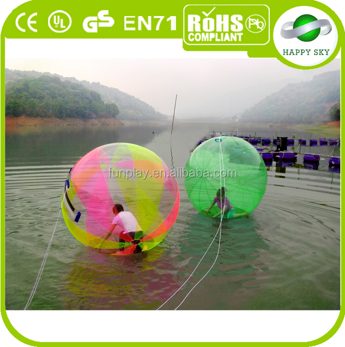 High quality! water filled weight ball, water ball dubai , water roller games