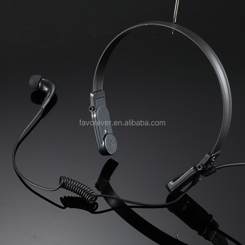 Family dedicated laryngeal game unilateral headset made in shen zhen factory