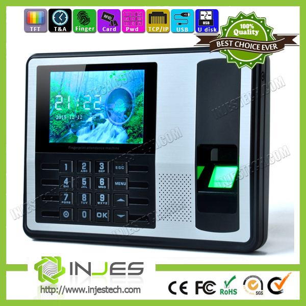 Quality Finger Biometric attendance time recording machine clock