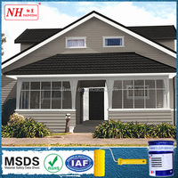Acrylic roof paints waterproof spray paint