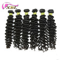 Hot selling 100% peruvian virgin remy human hair extension deep wave